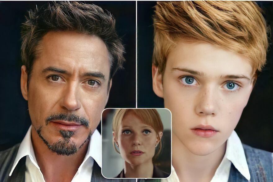 Tony Stark And Pepper Potts (Iron Man)