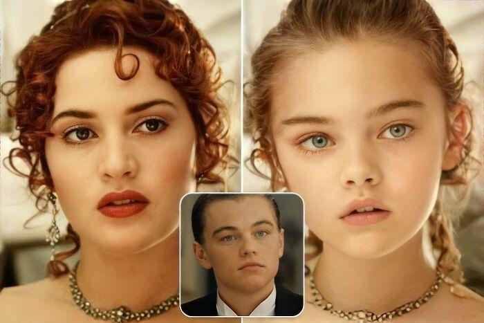 Jack y Rose (Titanic)