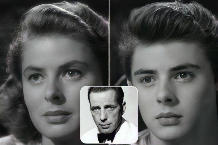 Ilsa Lund y Rick Blaine (Casablanca)