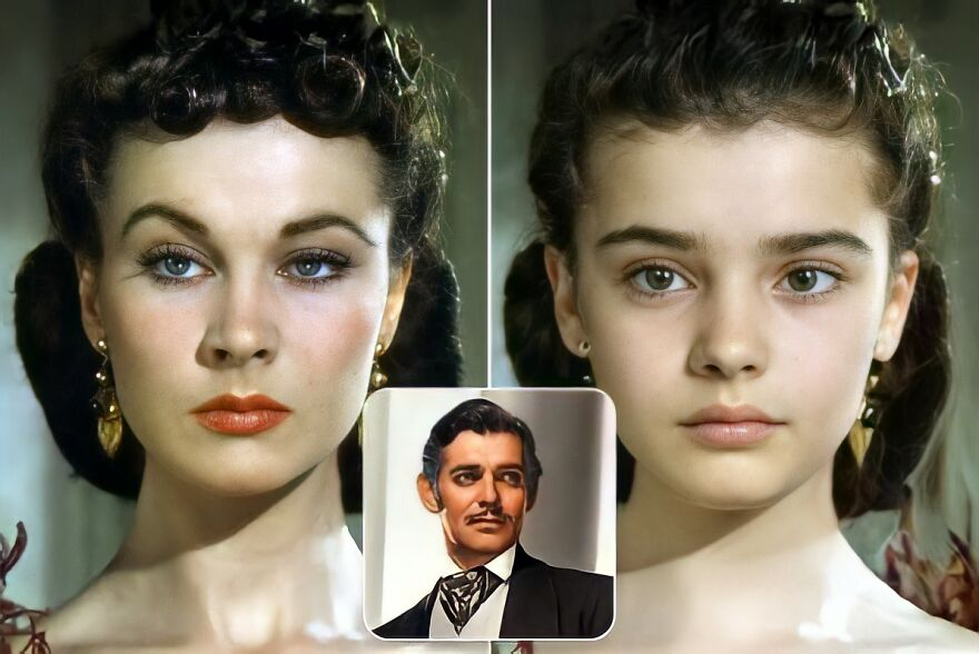 Scarlet O'hara And Rett Butler (Gone With The Wind)