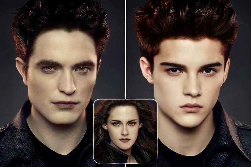 Edward Cullen And Isabella Swan (Twilight)