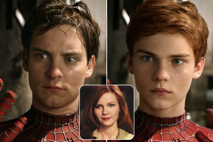 Peter Parker y Mary Jane Watson (Spider-Man)