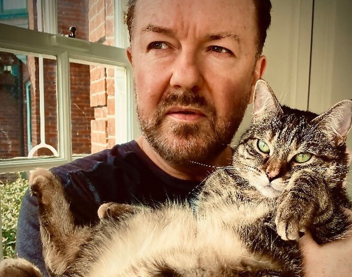 Ricky Gervais Is A Long-Time Supporter Of Animal Rights, Receiving Awards For His Work