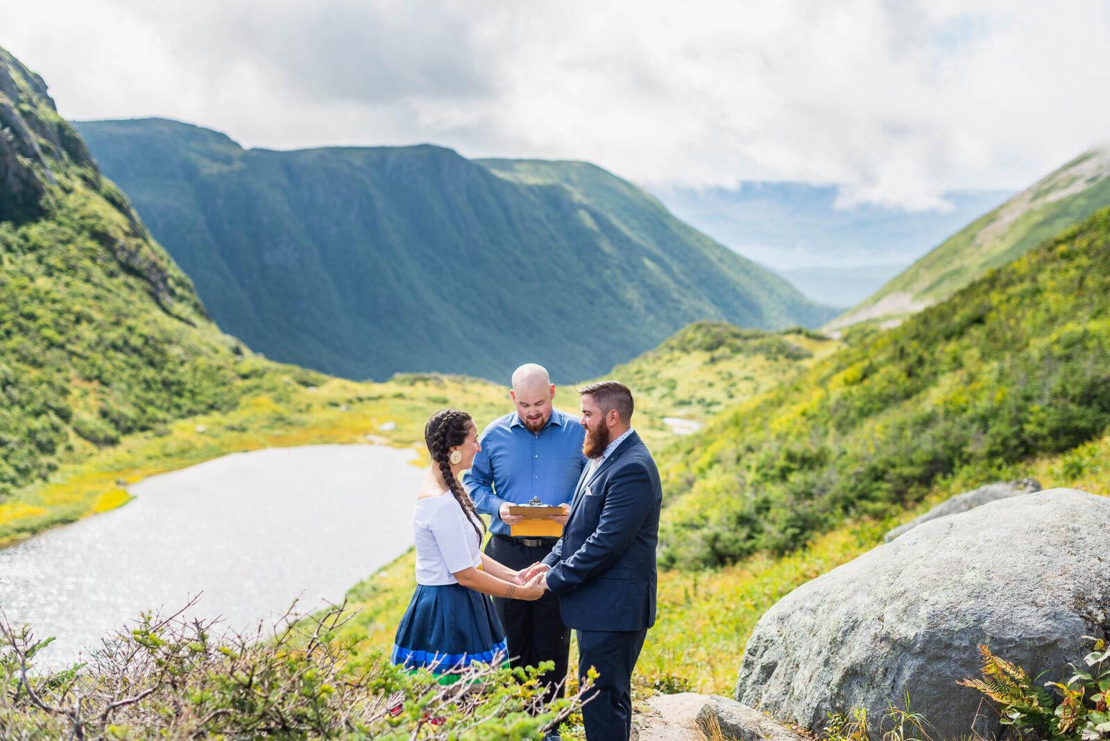 I Climbed A Mountain To Photograph A Wedding!