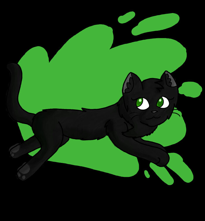 Just A Hollyleaf I Drew About 3 Years Ago