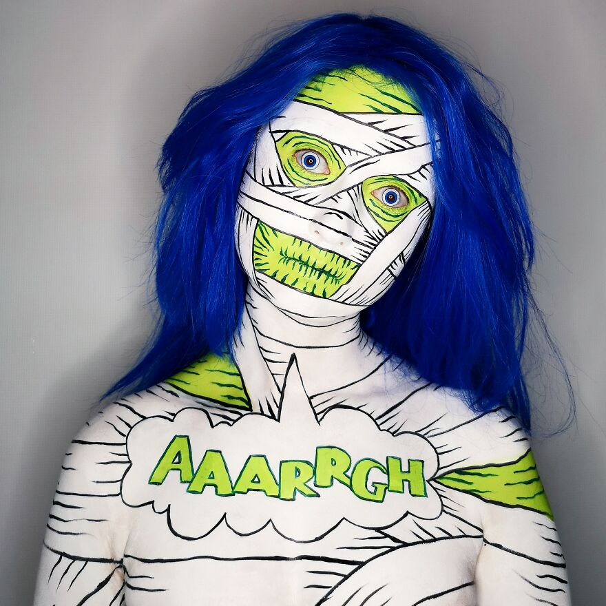 2020 October – Pop Art Mummy