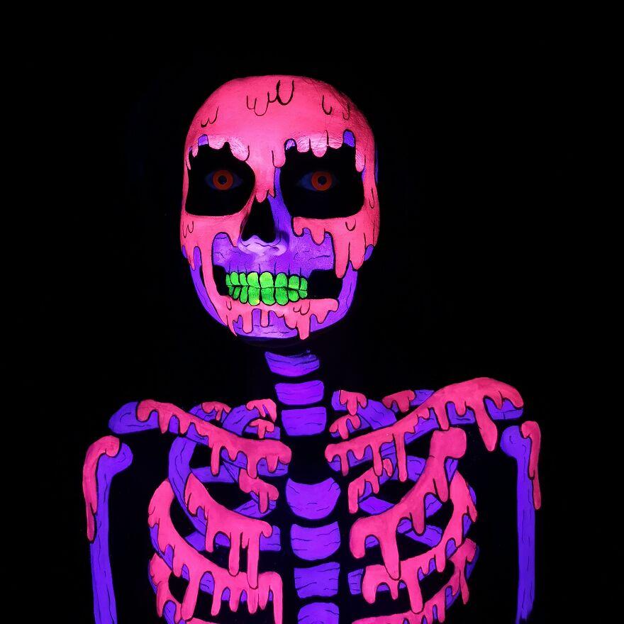 2020 October – Pop Art Skeleton