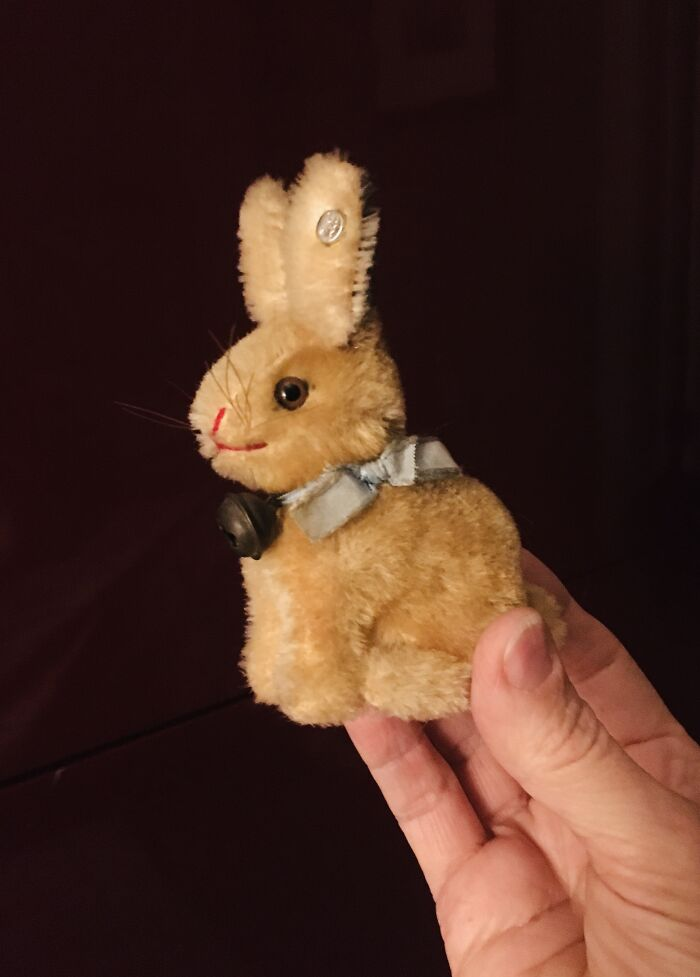 Sunny The Bunny - Given To Me On My 1st Birthday Easter 1968! (We Didn't Worry About Choking Hazards Back Then.)