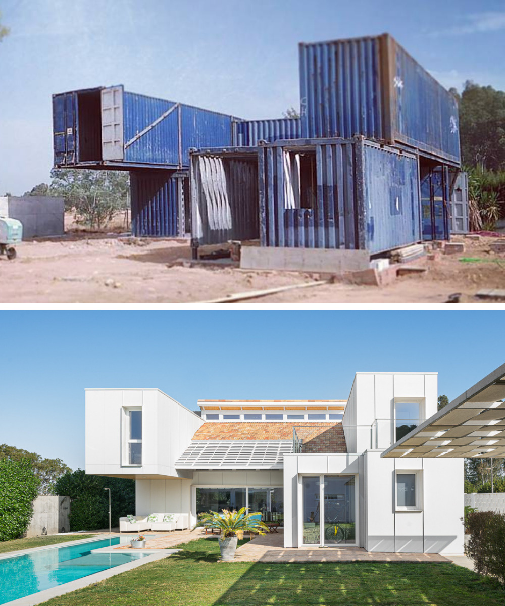 Incredible Family House Made Of Recycled Shipping Containers From Sevilla