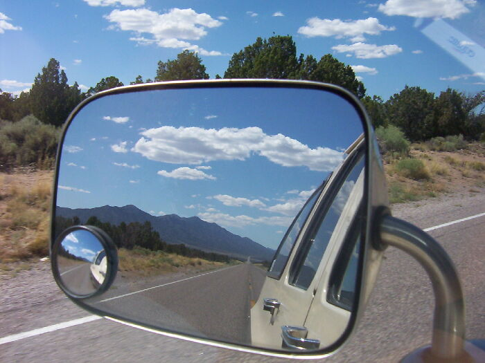 Looking Back -- Hiway 93 - Nevada