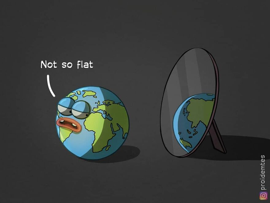 Not Flat At All