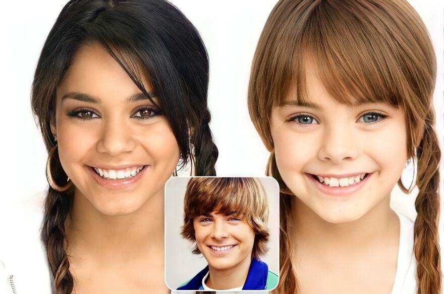 Gabriella Montez And Troy Bolton (High School Musical)
