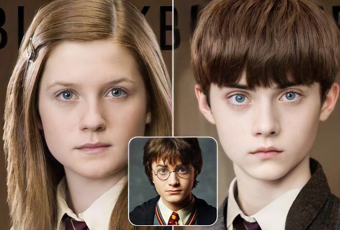 Ginny Weasley y Harry Potter (Harry Potter)