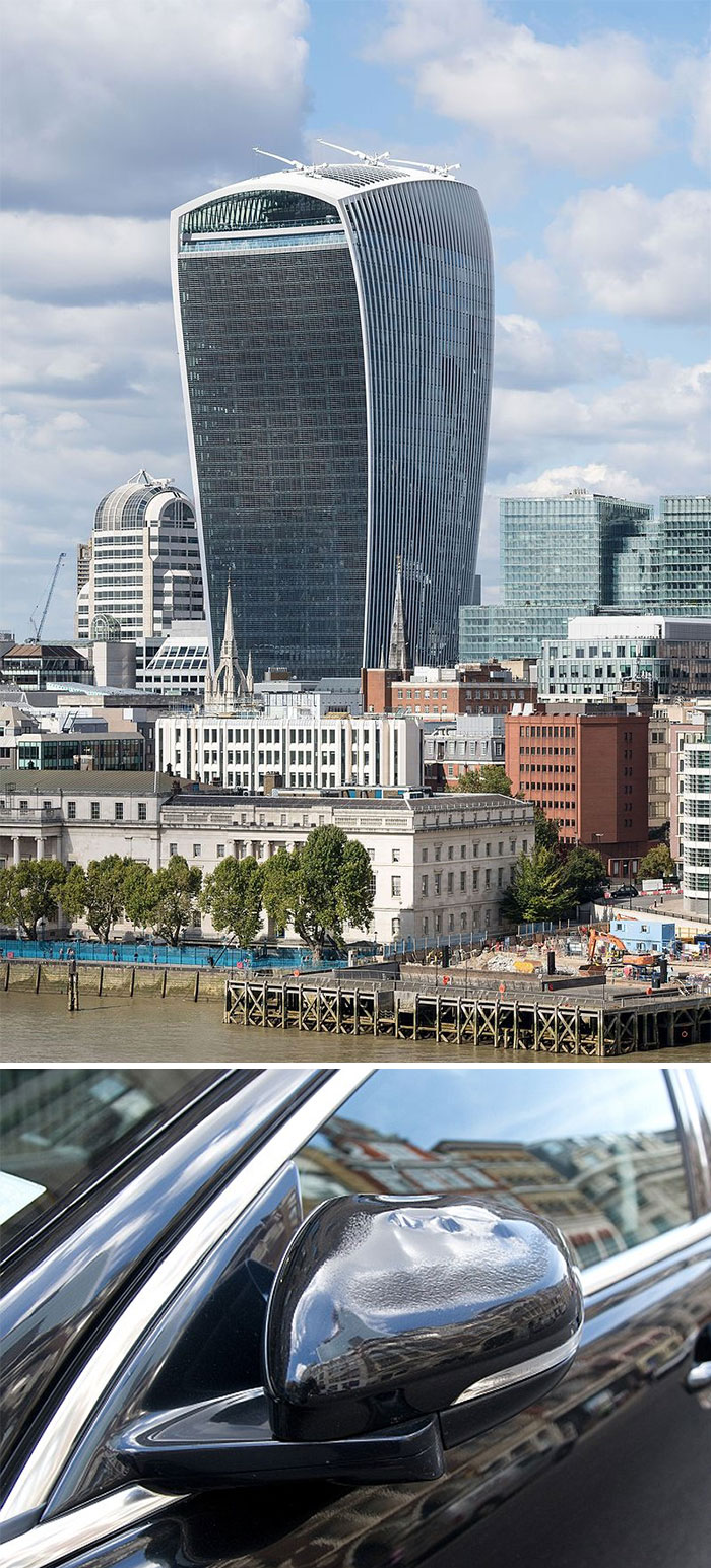 This London Skyscraper Can Melt Cars And Set Buildings On Fire