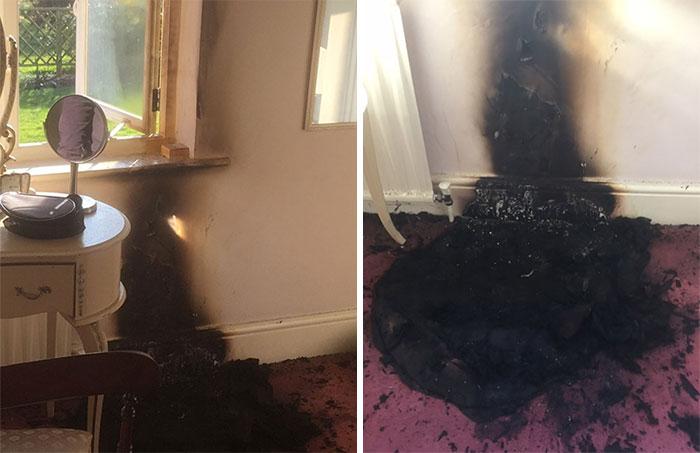 Sunlight On Make-Up Mirror Causes Freak Nottinghamshire House Fire