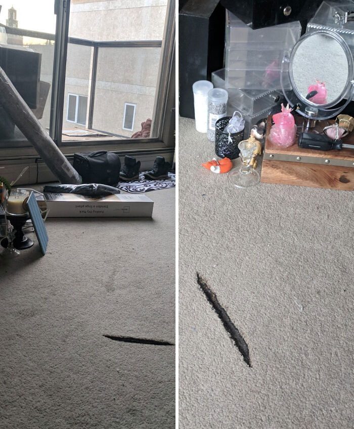 The Sun Came Through The Window Of My New Apartment And Hit A Mirror, Setting My Carpet On Fire