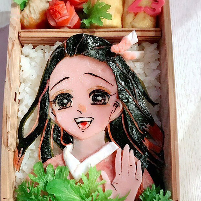 This Artist Makes Bento Boxes With Popular Anime Characters (70 Pics)