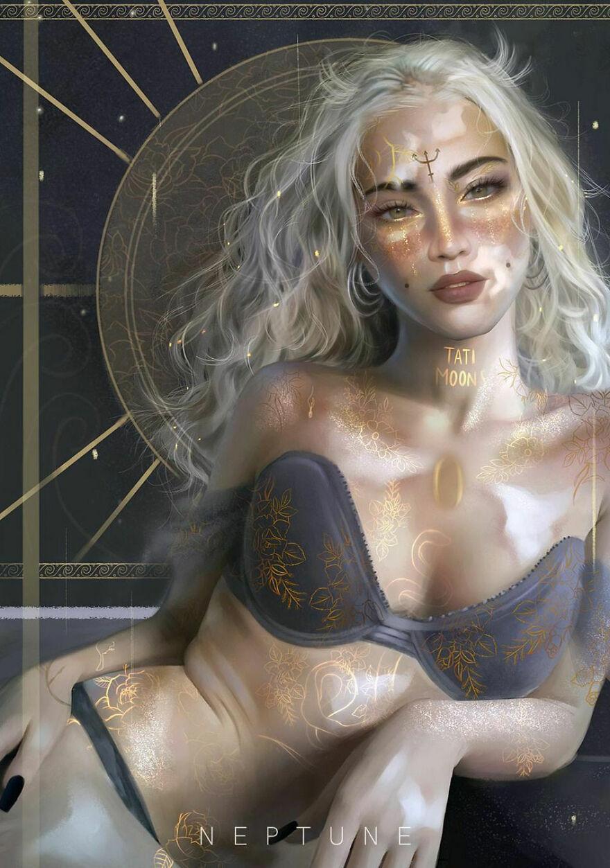 Neptune Goddess, Ruler Of Pisces