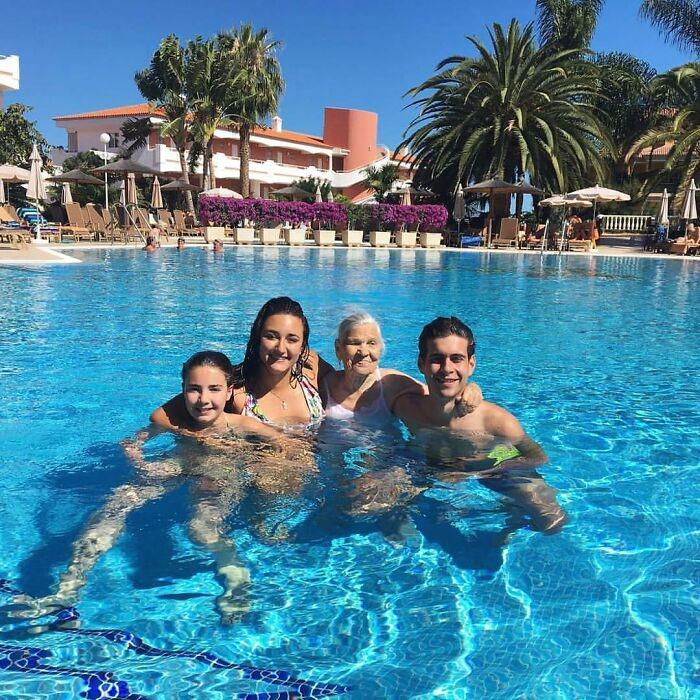 At The Riu Garoe Hotel In Tenerife, Spain