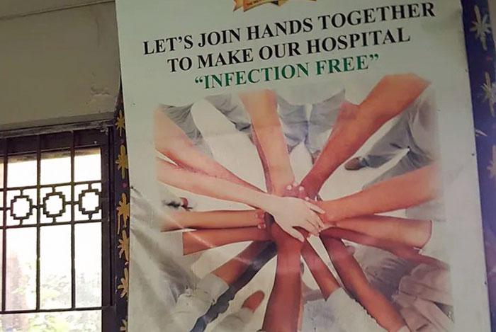 Unamos las manos para librar a los hospitales de infecciones