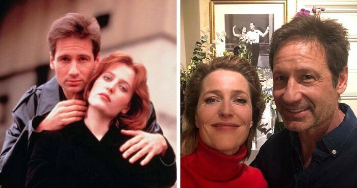 Expediente X, Mulder y Scully (David Duchovny y Gillian Anderson)