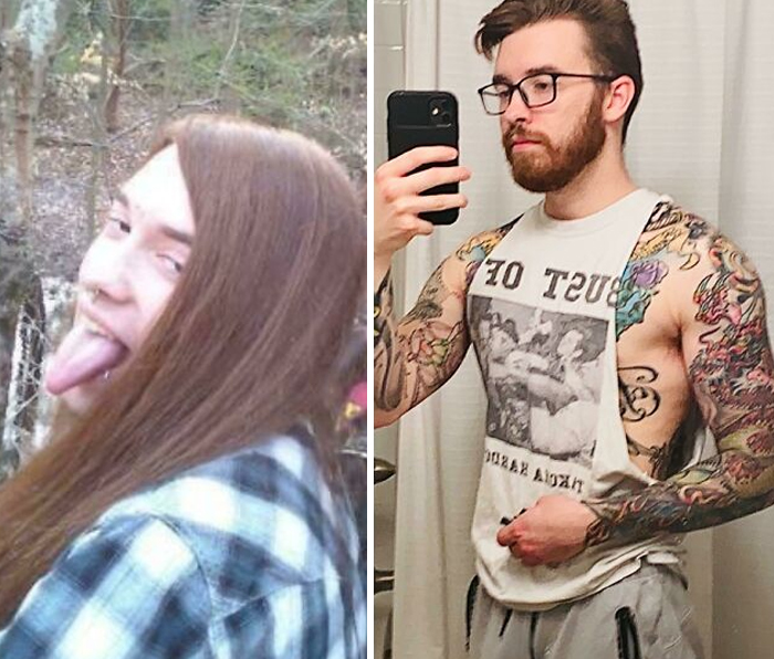 17-27 I Decided That I Didn't Want To Die Young From Drug Overdose So I Cut My Hair And Here We Are 10 Years Later