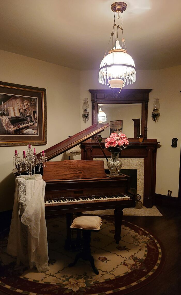Got This Piano From A Friends Barn For Free When I Was In Middle School, It Was Built In 1920 And It Was Full Of Mice And Falling Apart