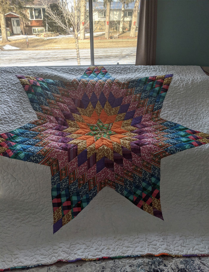 This Quilt Was Is Not A Second Hand Find But Rather Has A Long Family History And A Unique Story