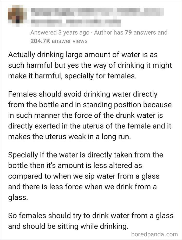 No More Bottled Water Ladies, You'll Thank Me Later