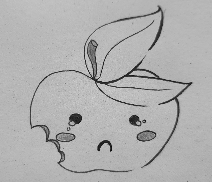 Hey Pandas, Draw An Adorable Apple