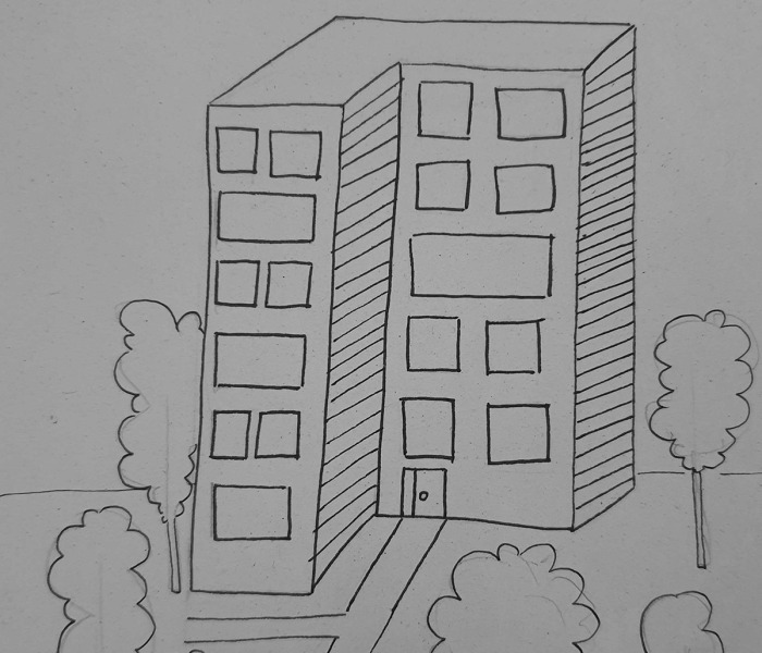 Hey Pandas, Draw Your House From The Outside