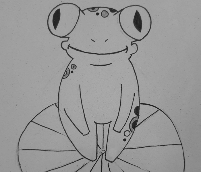 Hey Pandas, Draw A Frog