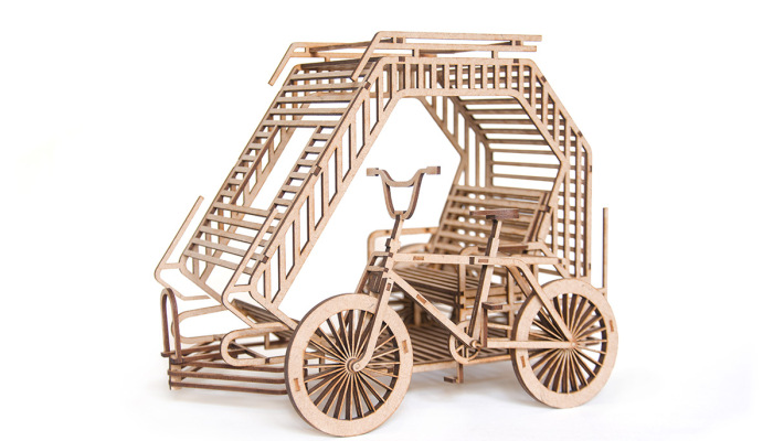 I Made 3D Puzzles For My Love Of Cycling