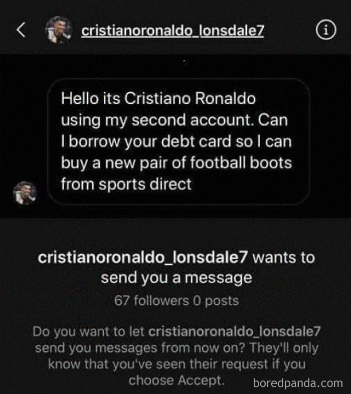 Cristiano Ronaldo Needs A Pair Of Boots, Can We Help Him?