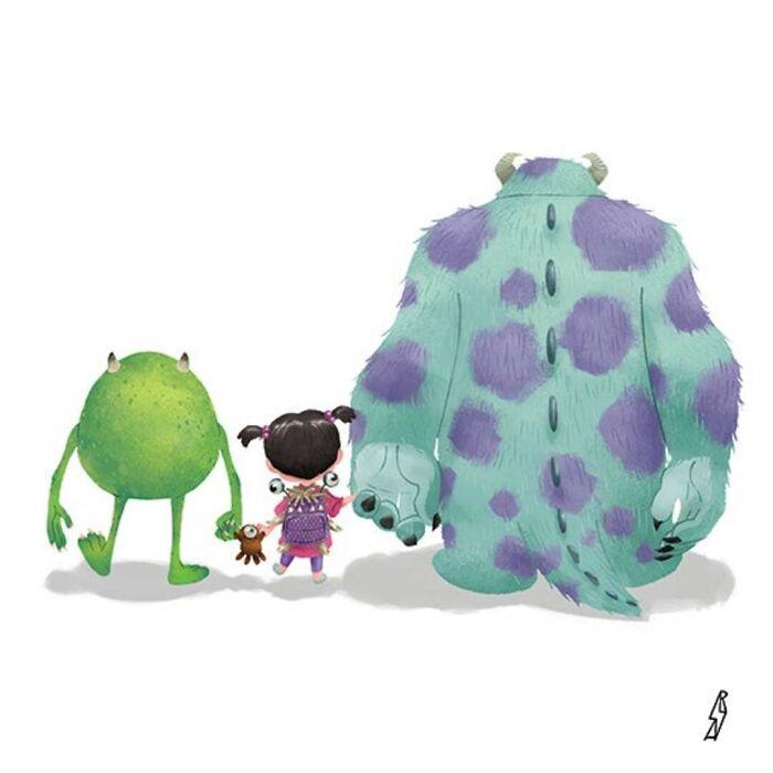 Monsters, Inc. (Monsters Family)