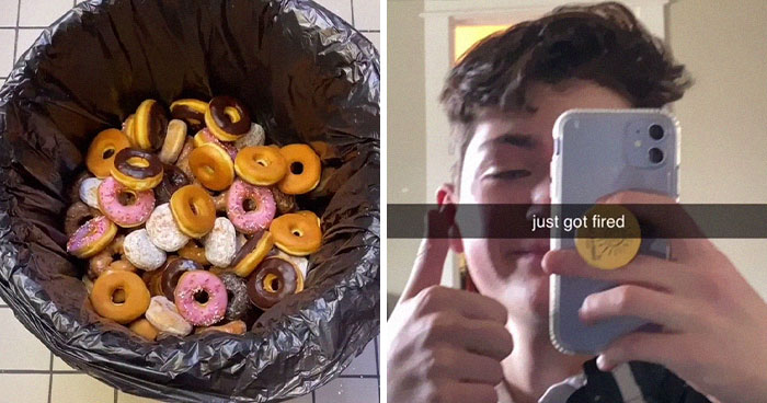 Guy Can't Stand Throwing Away So Many Donuts At His Job, Ends Up Giving Them To The Homeless, Gets Fired