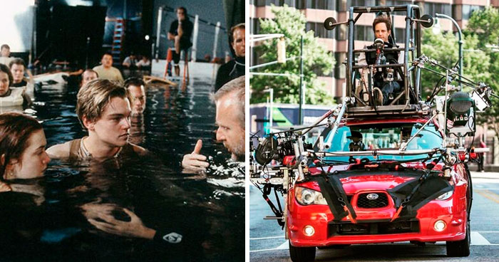 30 Photos That Reveal The Tricks That Filmmakers Used In Their Movies