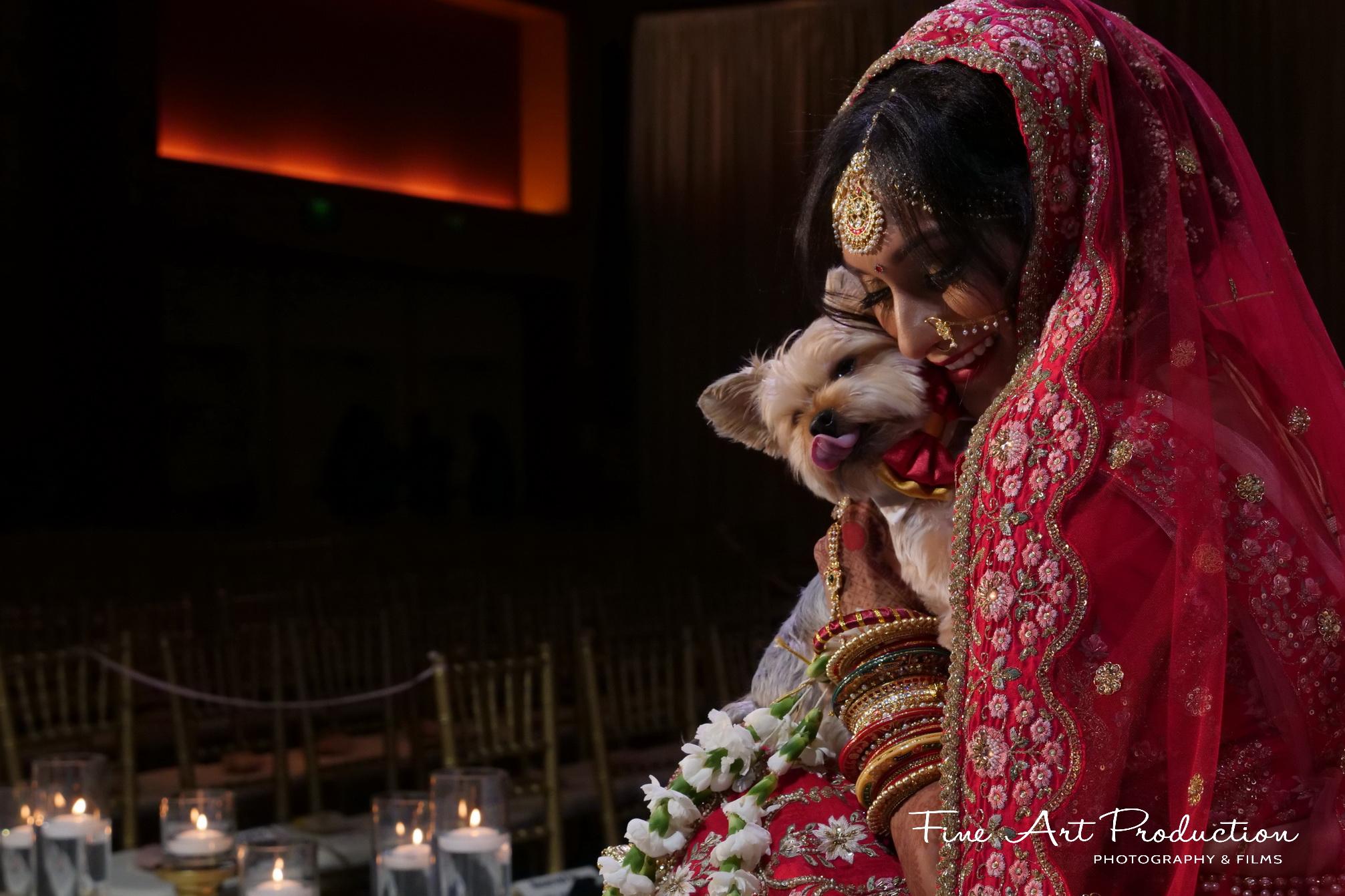 Indian Wedding Bridal Portrait Photography