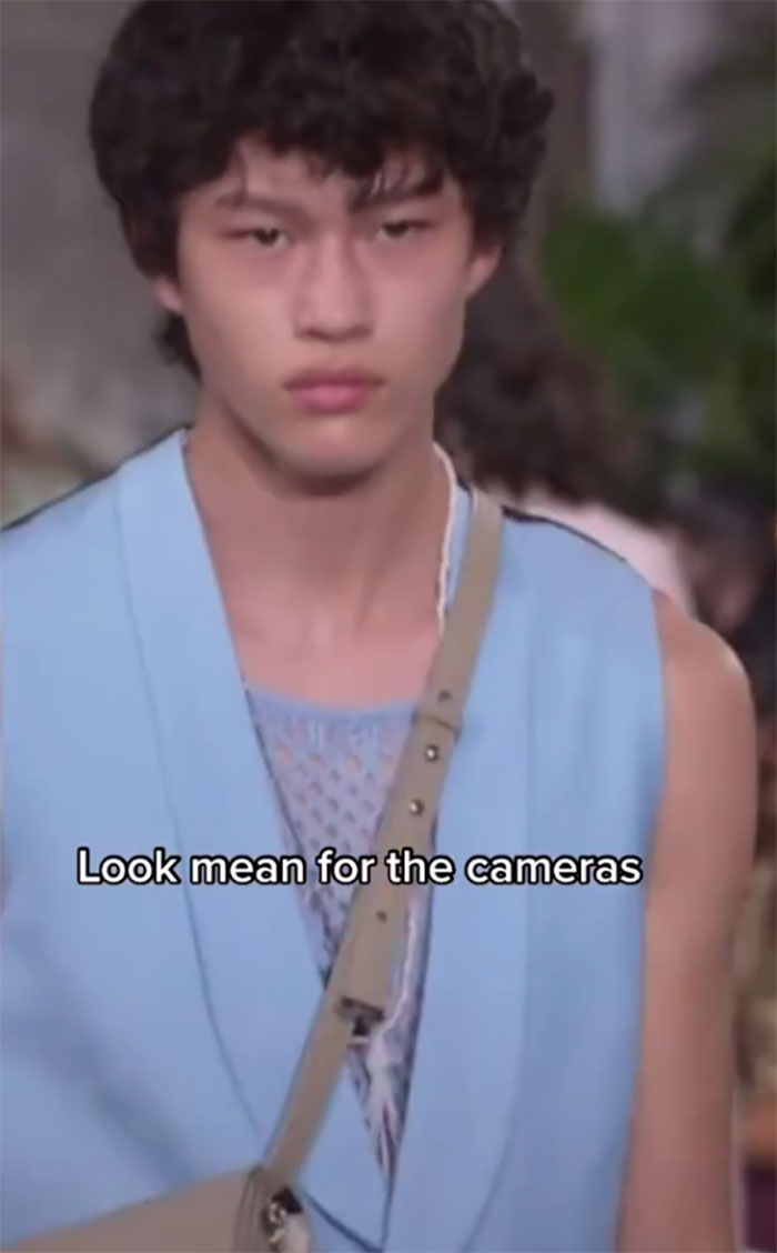 This Model Shows What He Thinks About On The Runway In Hilarious TikToks