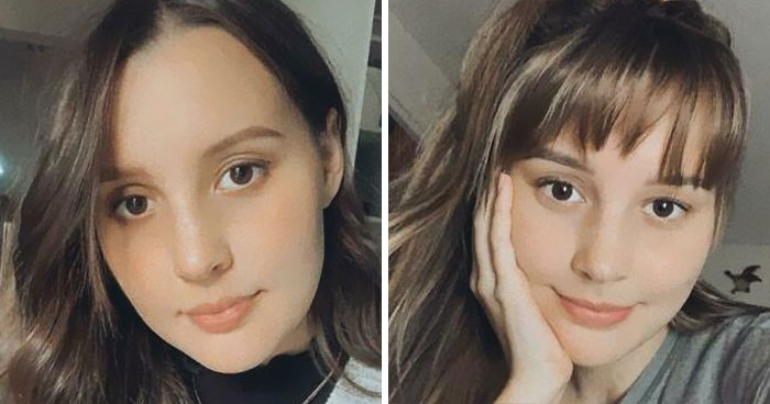 21 Before & After Pics Of Women Who Decided To Try Out Bangs And Realized It Suits Them
