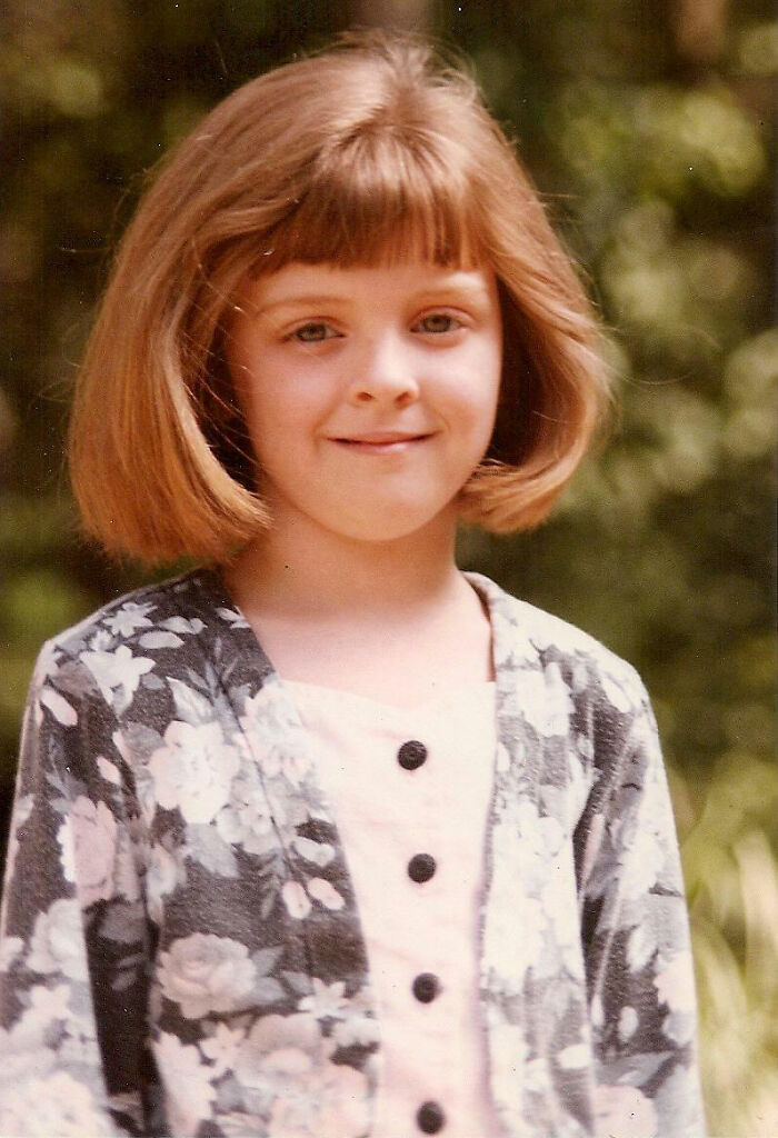 Here I Am At Six Years Old, Going On 40, Looking Like I'm Ready To Do Your Taxes