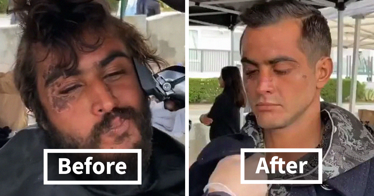 Awesome Barber Transforms Homeless People For Free And These 38 Before & After Pics Show Completely Different People