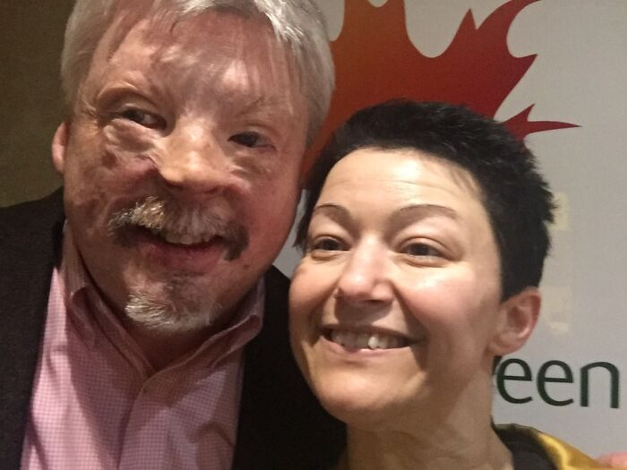 Me With Simon Weston. Just Couldn't Believe It.