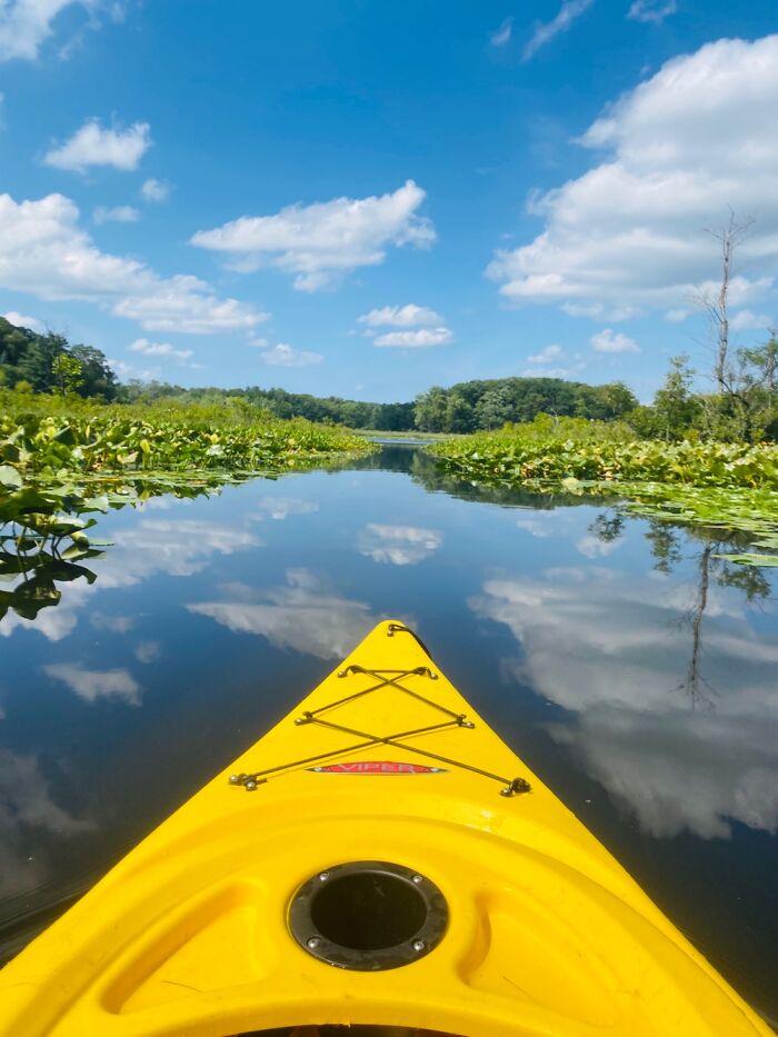 My First Time Kayaking!