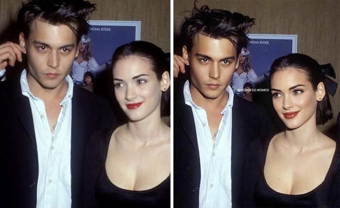 Johny Depp And Winona Ryder