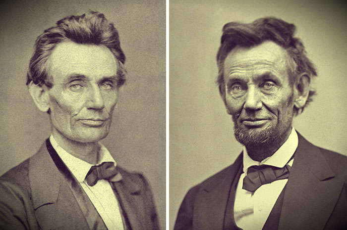 Abraham Lincoln Before And After The Civil War