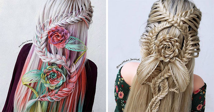 The Best 30 Hair Braid Styles From A Self-Taught Artist That Any Rapunzel Would Love