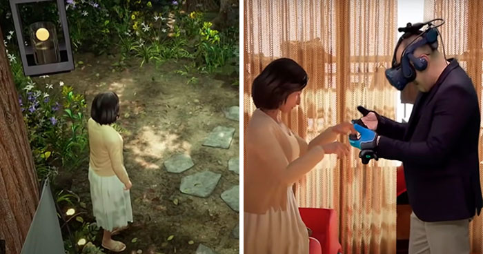 Husband Gets Reunited With His Late Wife Through VR To Make One Last Memory