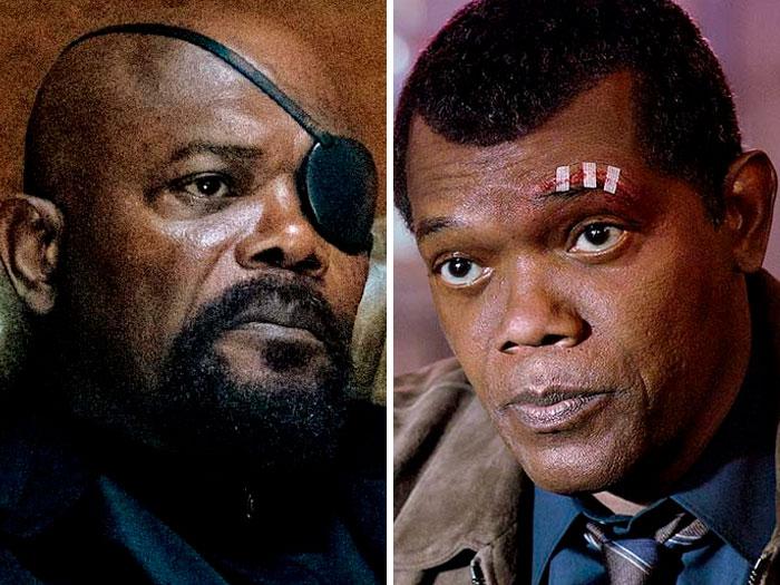 Samuel L. Jackson In 'Captain Marvel' (2019)