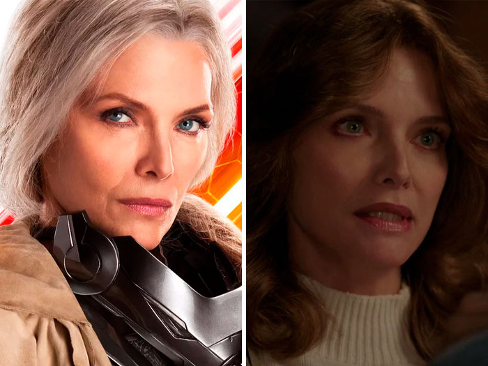 Michelle Pfeiffer In 'Ant-Man And The Wasp' (2018)